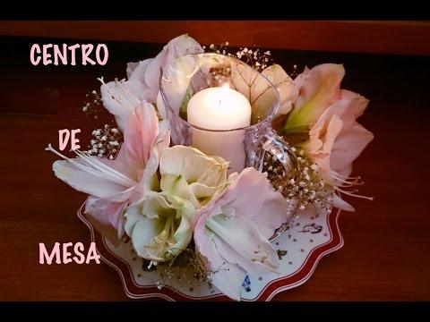 Arreglo floral. Centro de mesa Navidad. Flores naturales, 2 Ideas. Centrotavola. Centerpiece