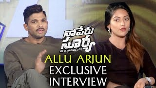 Telugutimes.net Allu Arjun Exclusive Interview