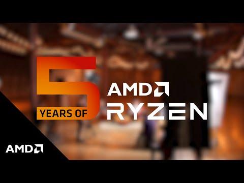 AMD Ryzen™ Processors: 5 Years Later