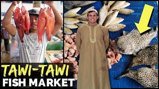 CHEAPEST PHILIPPINES FISH MARKET? AND WILD! - Muslim Mindana...