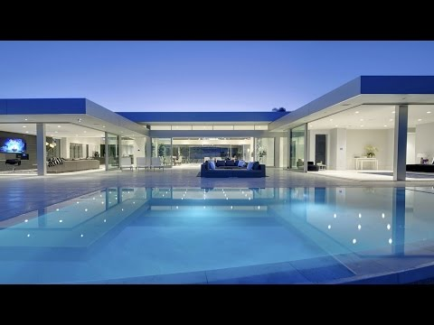 Stunning Ultra Modern Contemporary Luxxury Residence in Beverly Hills, CA (by McClean Design)
