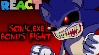 LUIGIKID REACTS TO: SONIC.EXE (BONUS FIGHT)  By TeenageBratwurst