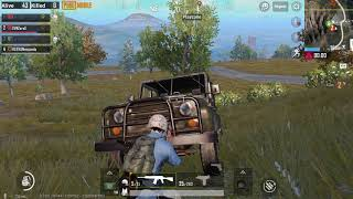 pubg mobile funny car scene