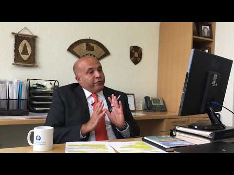 Professor Mazin Al Janabi talks about the World Finance Conference 2017