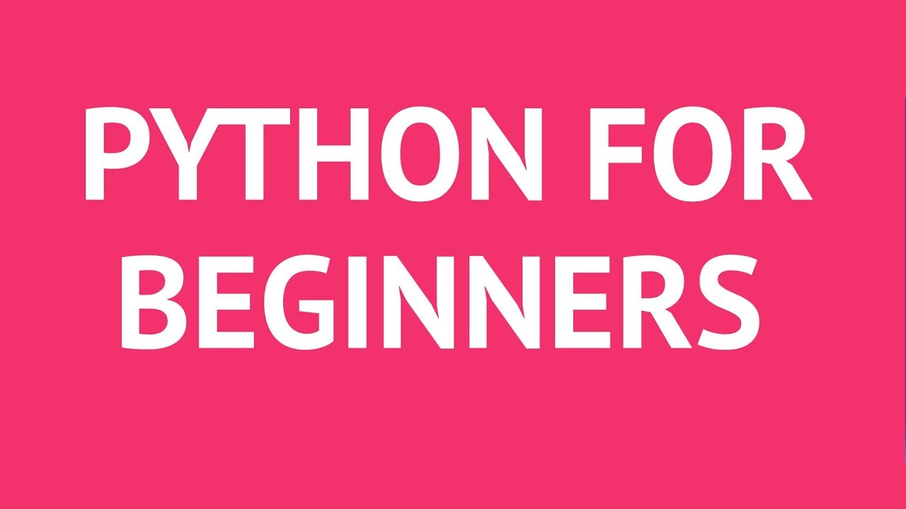 Python Tutorials for Beginners - Learn Python Online - YouTube