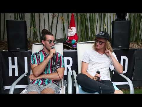 Pat Byrne & Sam Barron. Artist on Artist Interview for Happy Mag.