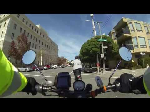 SF Panhandle Ride ends w/ Encounter with ignorant E-Bike hater @ 4:20 mark) [HD]