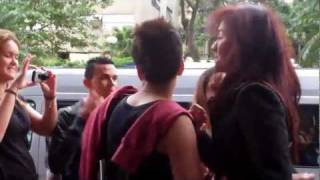 Agnes Monica with the fans (video 1) at Sao Paulo, Brazil