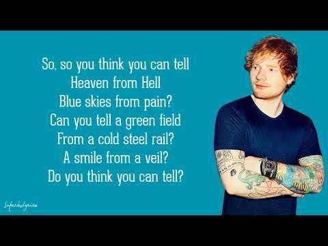 Ed Sheeran  Wish You Were Here Lyrics