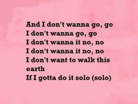 Solo by Iyaz lyrics full song