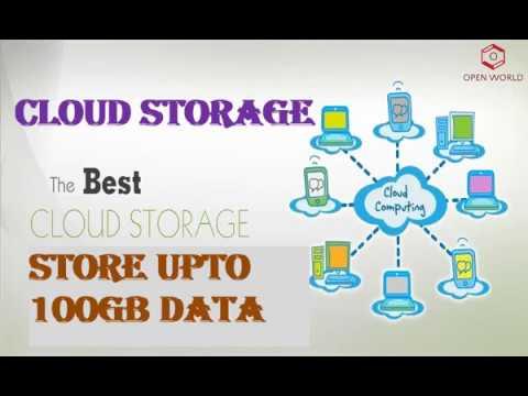 Upto 100gb Free Cloud Storage Websites