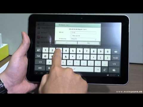 Khui hộp Samsung Galaxy Tab 8.9 P7300 - www.mainguyen.vn