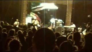 Chezidek backed by Dub Akom Live Ostroda Festival 2010