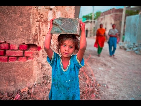 Poor Children Who Working