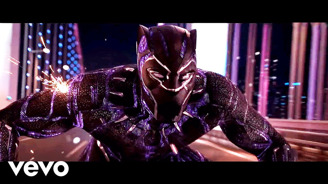 Download J Balvin, Willy William - Mi Gente (TheFloudy & AZVRE Remix)   BLACK PANTHER [Chase Scene]