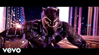 J Balvin, Willy William - Mi Gente (TheFloudy & AZVRE Remix) | BLACK PANTHER [Chase Scene]