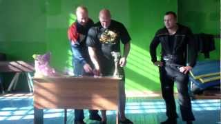 Соревнования по троеборью в г.Рудня