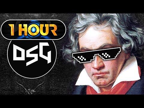 【1 Hour】 Beethoven  Für Elise Klutch Dubstep Trap Remix