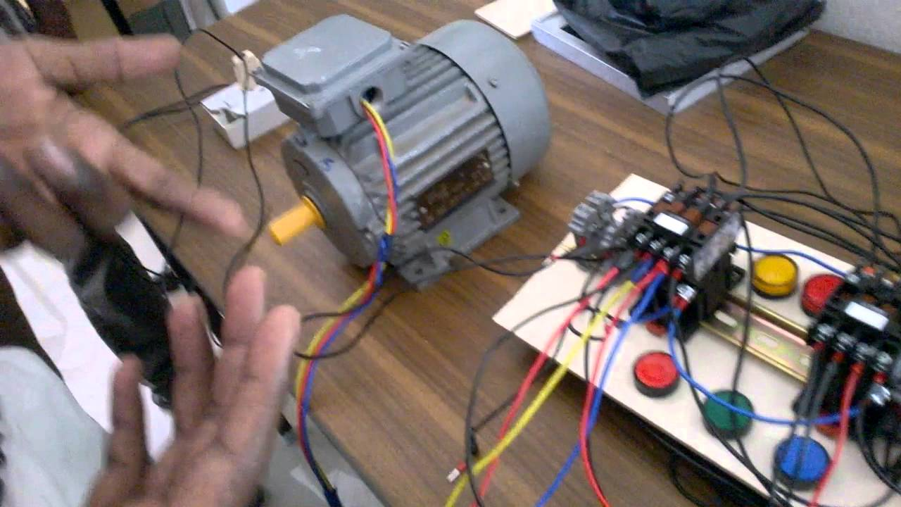 induction motor forward and reverse  YouTube
