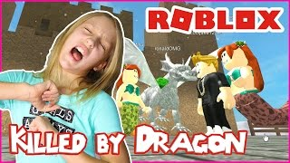 Killed by the Pirate Dragon / Roblox Neverland Lagoon