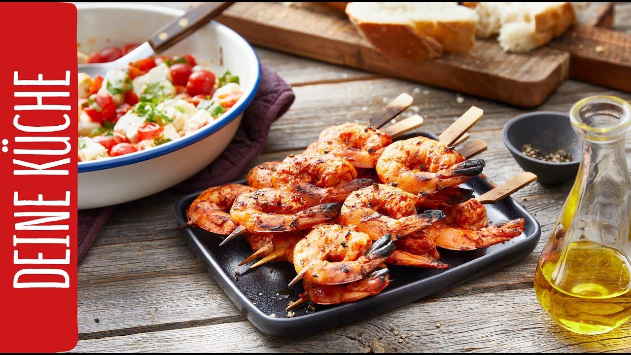 Garnelenspieße | REWE Deine Küche