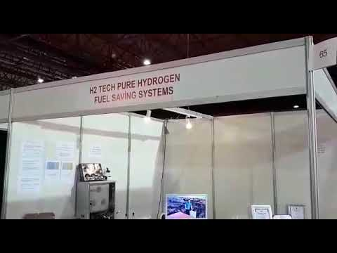PURE HYDROGEN FUEL SAVING SYSTEMS STAND