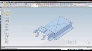 Solid Edge ST7 - Sac Metal Eğitimleri -10-  Radyus ve Pah Kırma Komutları