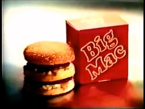 McDonald's Big Mac Jingle Commercial (1974)