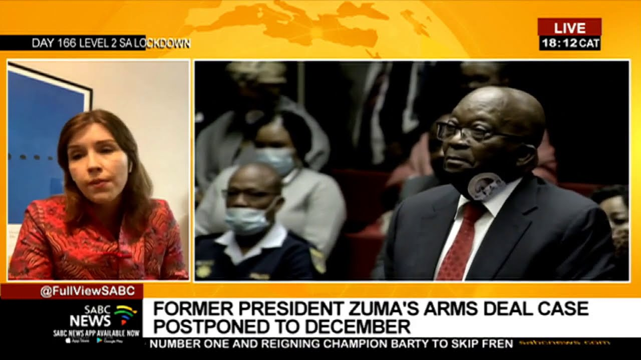 Download Zuma, co-accused Thales case postponed to December: Karyn Maughan