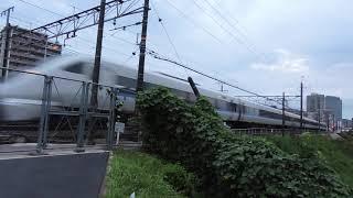 回9983M 683系W33編成 団体臨時列車送り込み回送 高槻~摂津富田