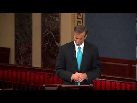 Thune Tribute to Senator Abdnor on Senate Floor