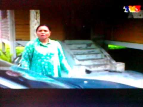 KayMaria as Salwa in TV3 drama 'Iman Nabila' Part 2