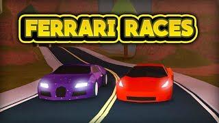 Racing The New Vehicles!  Roblox Jailbreak