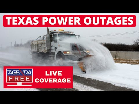 Widespread Power Outages in Texas - LIVE WINTER WEATHER COVERAGE
