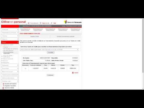 Como consultar el saldo tarjeta de credito banco de venezuela for Banco de venezuela consulta de saldo