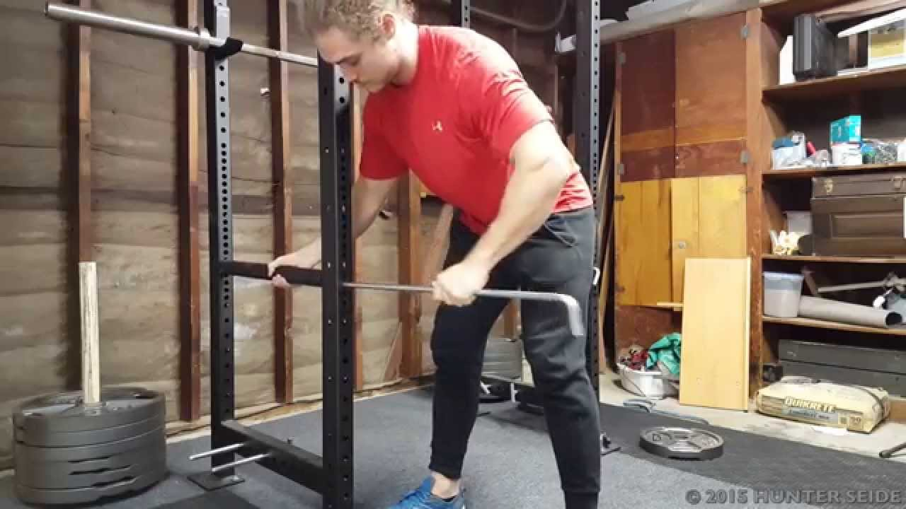 How To Use Safety Pins Squatting And Benching Without A
