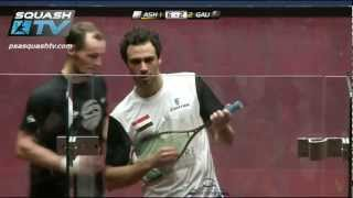 Squash : MegaRallies - Ramy Ashour v Gregory Gaultier ToC 2013 - EP16