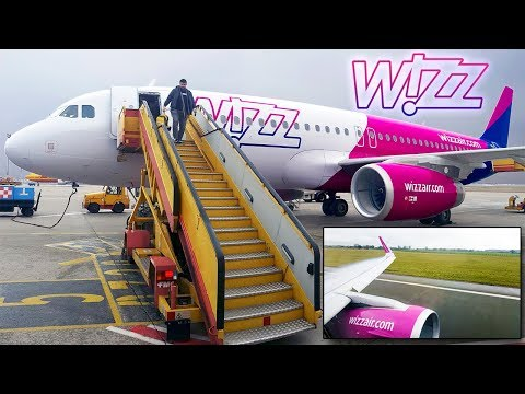 TRIP REPORT | WizzAir | LONDON - BRATISLAVA | Airbus A320CEO Sharklets
