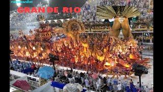 Grande Rio 2020 - Desfile. Carnaval in Rio de Janeiro