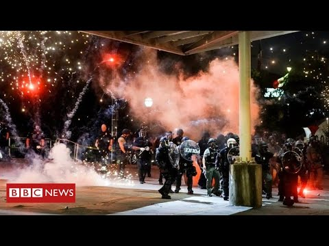 Mass Protests And Arrests Across US Over George Floyd Death - BBC News