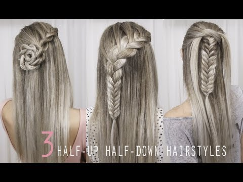 3-pretty-half-up-half-down-hairstyles-|-back-to-school-|-tutorial