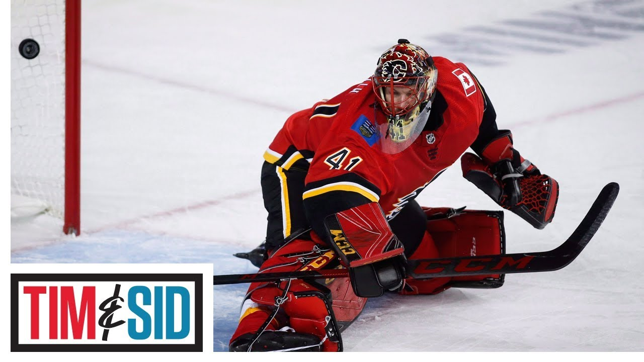 Mike Smith's Struggles Becoming A Concern For Calgary Flames | Tim and Sid