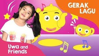 Gerak dan Lagu Anak TK - Little Teapot - Lagu Anak Bahasa Inggris
