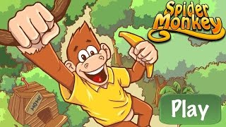 Spider Monkey - Top Free Games Level 1-14