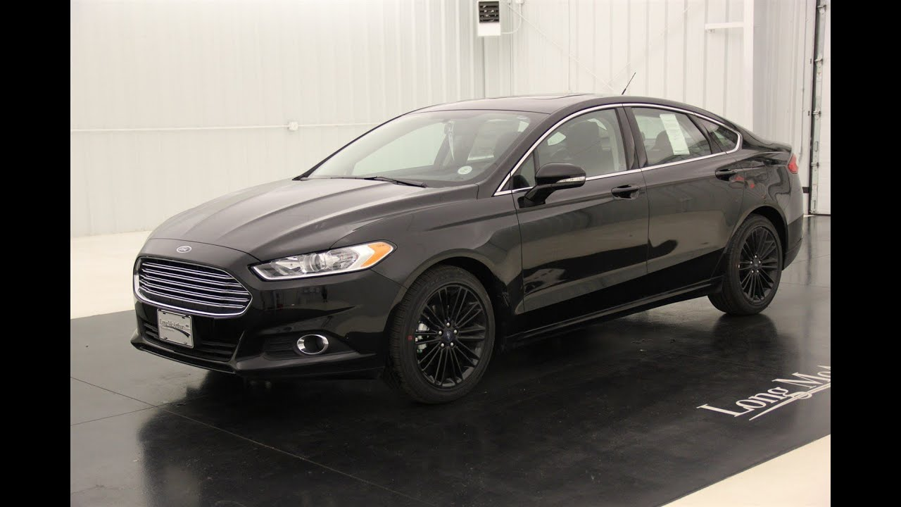 2016 ford fusion se standard equipment available. Black Bedroom Furniture Sets. Home Design Ideas