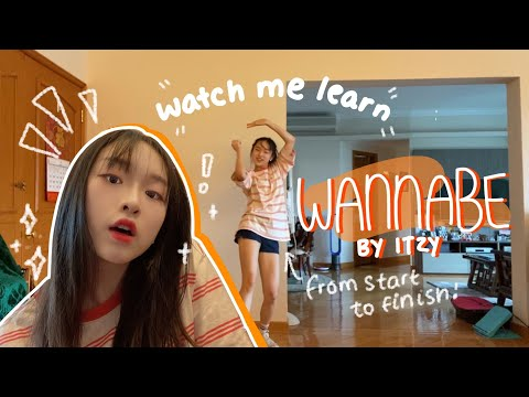Watch Me Learn WANNABE✨   How I Learn KPOP Choreographies At Home