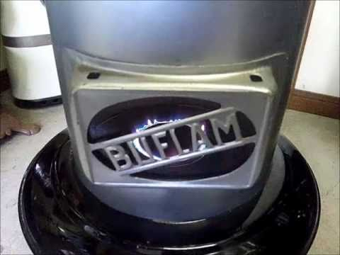 Buflam Blue Flame Paraffin Heater Youtube