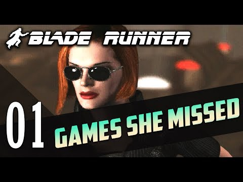 Blade Runner (1997 PC Game) #01 | GAMES SHE MISSED