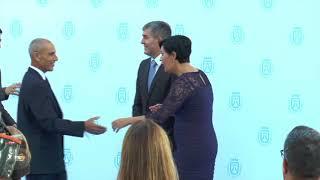 Acto de reconocimiento a deportistas y clubes Tenerife con el Deporte