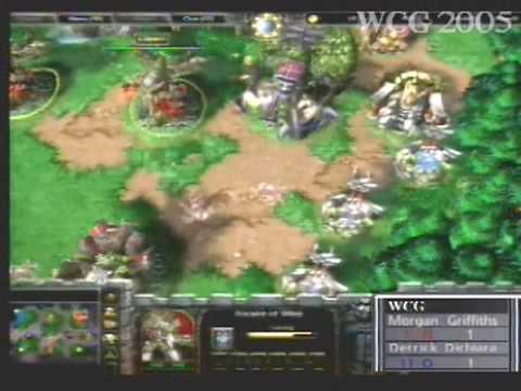 2005 Grand Final:  War3 match: MORGAN GRIFFITHS vs DERRICK DICHIARA